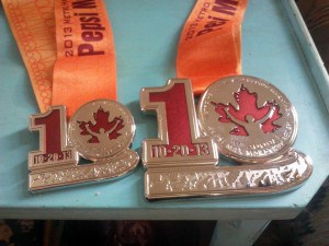 RunnersGoal   Grand Rapids Marathon Medals