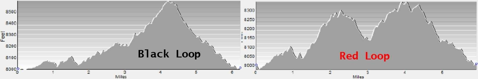 Flagstaff Half Marathon Elevation Map
