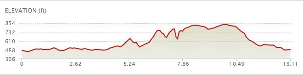 Flying Pig Half Marathon Elevation