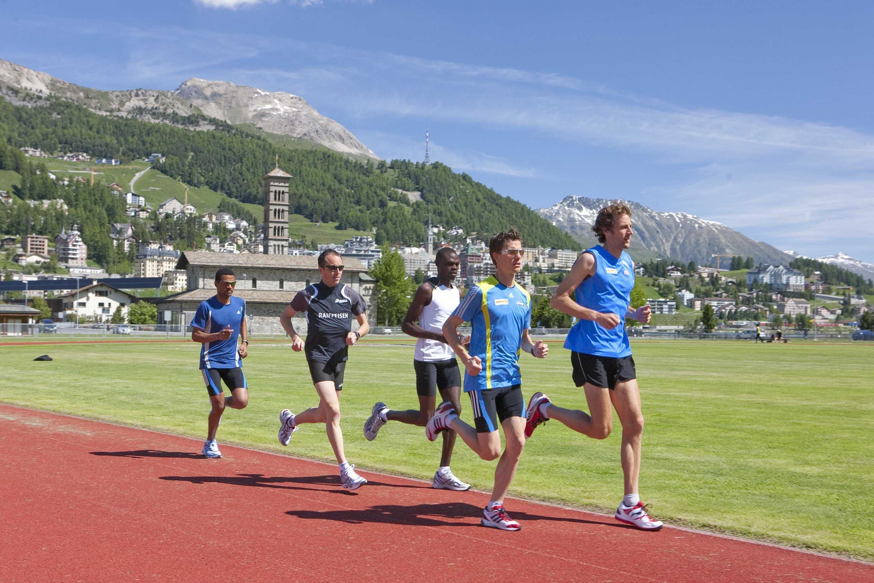 runners breathing
