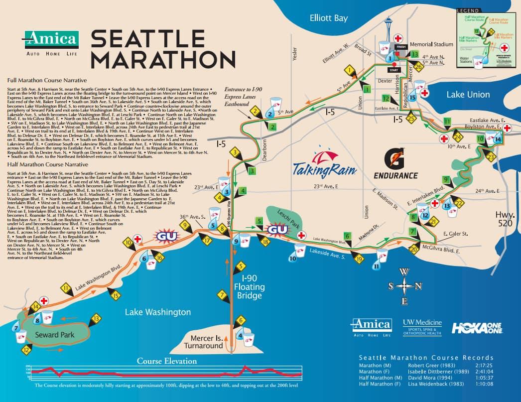 Best Marathons In Washington – Runner\'s Choose Washington\'s ...