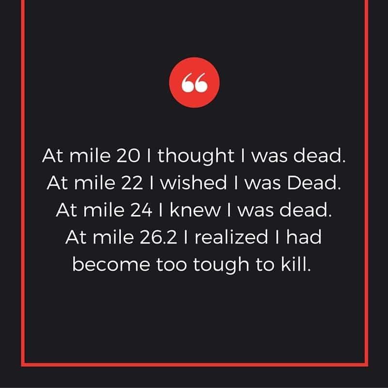 Marathon Quotes - Unknown 3