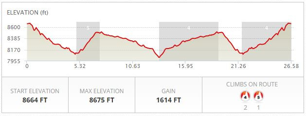 Wyoming Marathon Elevation