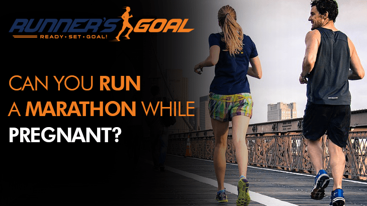 can you run a marathon pregnant