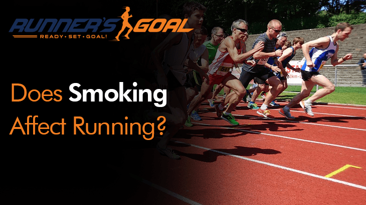 does smoking affect running