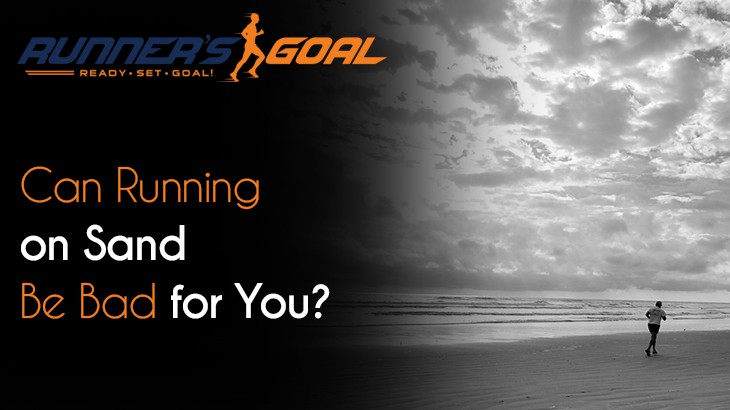 is running on sand bad for you