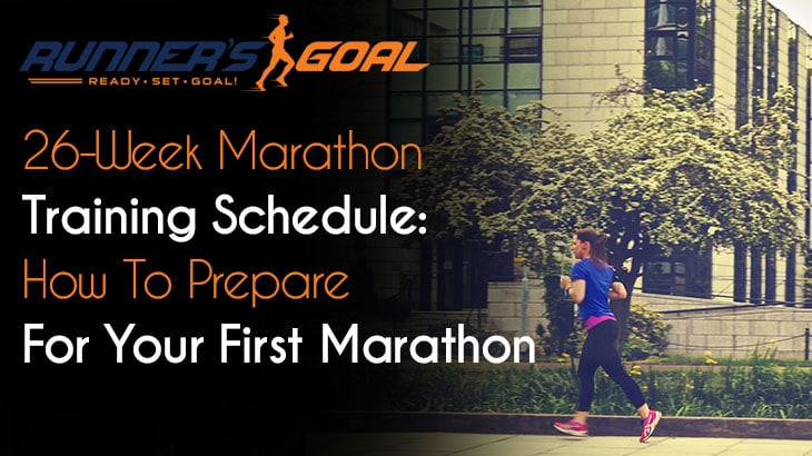26-Week Marathon Training Schedule