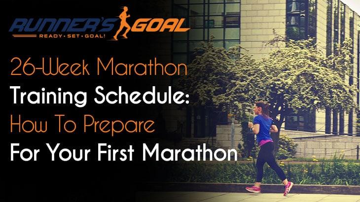 26-Week Marathon Training Schedule
