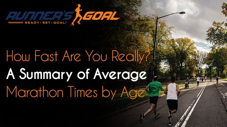 Average Marathon Times by Age