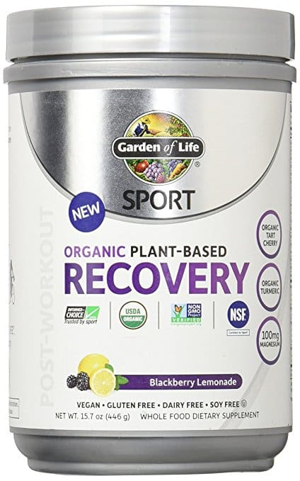 Garden of Life Sport Organic Post Workout Recovery Drink