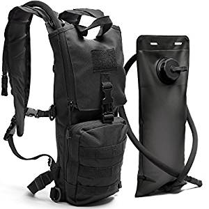 Diaz Sport Black Tactical Hydration Pack