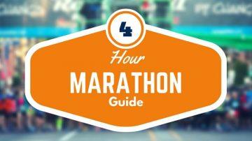 Run a marathon in 4 hours
