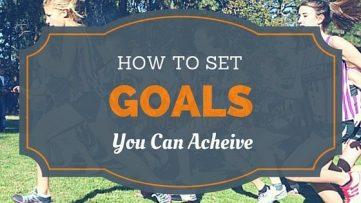 setting goals for running